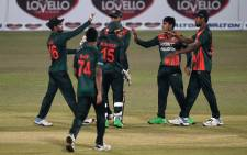 Bangladesh beat the West Indies by 120 runs in the third one-day international in Chittagong on 25 January 2021 to sweep the series 3-0. Picture: @ICC/Twitter.