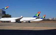 FILE: South African Airways planes. Picture: Facebook.com