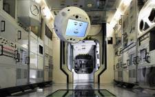 A view of CIMON, an AI-based assistant, powered by IBM Watson, designed to help astronauts on their way to the ISS. Picture: @NASA/Twitter.