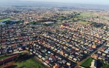 A part of the Soweto area in Johannesburg. Picture: Aki Anastasiou/EWN.