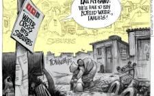 Water crisis hits suburbs 'dahling'!