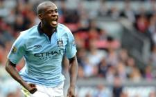 Manchester City's Yaya Toure. Picture: AFP