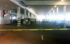 The basement where robbers parked their before robbing a jewellery store in Randridge Mall on 16 June 2012. Picture: Theo Nkonki/EWN