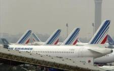 Air France aircraft prepare for take off. Picture: Getty Images