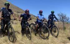 Cape Town's Tourism Law Enforcement Unit received seven electric bicycles on 23 December 2019, which will help them cover greater distances while on patrol and improve their response times. Picture: Kaylynn Palm/EWN.