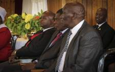 ANC treasurer-general, Paul Mashatile, (centre) attends a service at the Jafta Methodist Church in Gugulethu. Picture: Cindy Archillies/EWN