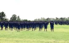 Thousands of new police officers graduated in Pretoria on 22 December 2017. Picture: @SAPoliceService.