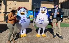 City of Cape Town Mayco member James Vos (right) launched a tourism initiative at Kirstenbosch Gardens on 8 September 2021. Picture: Kaylynn Palm/Eyewitness News