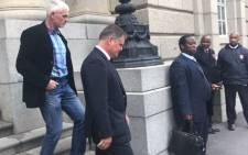 FILE: Murder accused Jason Rohde leaves the Western Cape High Court on 18 August 2017. Picture: Shameila Fisher/EWN