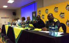 FILE: African National Congress (ANC) members at the party's National Executive Committee (NEC) meeting in Irene, Tshwane. Picture: @MYANC.
