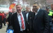 Manchester United Manager Alex Ferguson at Cape Town International Airport on 20 July 2012. Picture: Alicia Pillay/EWN