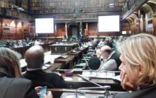 FILE: The Parliamentary sitting into the current state of the South African Post Office on 31 October 2014. Picture: EWN.