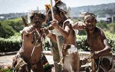 FILE: Khoisan activists have returned to Union Buildings to demand feedback after handing over their memorandum to President Cyril Ramaphosa last year. Picture: Abigail Javier/EWN.