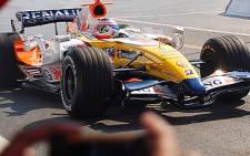 Formula 1 racing car. Picture: Taurai Maduna/Eyewitness News