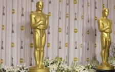 The coveted gold statuette at the Academy Awards. Picture: AFP.