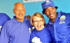 Democratic Alliance leadership, from left, Wilmot James, Helen Zille and Mmusi Maimane. Picture: @Mabine_Seabe
