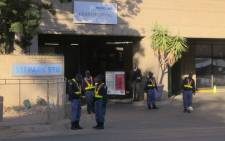 Security has been beefed up at the Mediclinic Heart Hospital in Pretoria where Nelson Mandela is being treated. Picture: Christa van der Walt/EWN