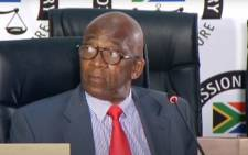 A screengrab shows former Eskom chair Zola Tsotsi at the state capture inquiry on 8 September 2020. Picture: SABC Digital/YouTube