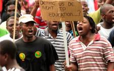 FILE: Residents of Soshanguve took to the streets on Saturday 18 January in protest over RD houses.