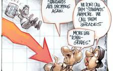 Falling standards? Dr Jack & Curtis look at education standards as the 2014 matric pass rate is revealed.