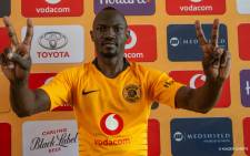 Ugandan Godfrey Walusimbi has signed for kaizer Chiefs from Kenyan outfit Gor Mahia. Picture: Twitter/@KaizerChiefs
