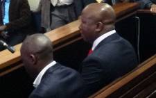 EFF leader Julius Malema in court. Picture: EWN.