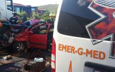 FILE: Two other passengers travelling with her escaped unharmed. Picture: EmergiMed.