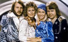 Swedish pop group ABBA with its members Benny Andersson, Anni-Frid Lyngstad, Agnetha Faltskog and Bjorn Ulvaeus posing after winning the Swedish branch of the Eurovision Song Contest with their song 'Waterloo' in 1974. Picture: AFP.