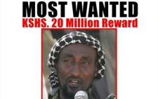 Man wanted in Kenya for the Garissa University College  attack. Picture: Interior CNG Ministry Twitter