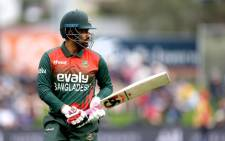 Bangladesh skipper Tamim Iqbal won the toss and elected to bat against Sri Lanka in the ODI match in Dhaka on Sunday, 23 May 2021. Picture: Twitter/ @ICC