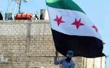Syrian flag. Picture: AFP.