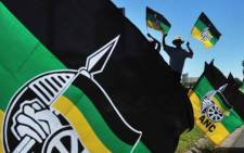 ANC flags at the party's Mangaung conference. Picture: GCIS.