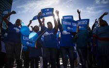 FILE: DA supporters celebrate the party's local government election results at a rally in Cape Town. Picture: Aletta Harrison/EWN.