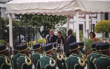 German Federal President Frank-Walter Steinmeier is on a three-day state visit to promote closer diplomatic and economic ties with South Africa. Picture: Cindy Archillies/EWN