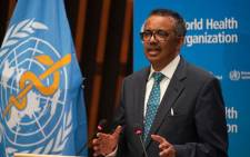 FILE: World Health Organisation Director-General Tedros Adhanom Ghebreyesus Picture: @WHO/Twitter.