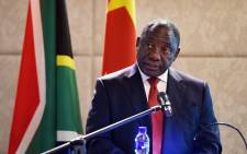 Deputy President Cyril Ramaphosa. Picture: GCIS