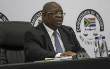 FILE: Deputy Chief Justice Zondo during the first public hearing on state capture allegations in Johannesburg on 20 August 2018. Picture: AFP