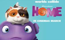 'Home' movie poster. Picture: DreamWorks Animation