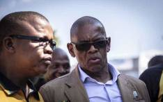FILE: ANC secretary general Ace Magashule arrives at the IEC's head offices in Centurion, Tshwane, to submit the governing party's election candidates list. Picture: Abigail Javier/EWN.