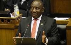 President Cyril Ramaphosa delivers his State of the Nation address at Parliament in Cape Town on 13 February 2020. Picture: AFP