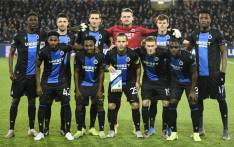 FILE: Club Brugge's players pose before the UEFA Champions League Group A football match between Club Brugge and Real Madrid CF at the Jan Breydel Stadium in Bruges on 11 December 2019. Picture: AFP