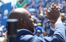 DA leader Mmusi Maimane at the party's election manifesto launch at Rand Stadium, Johannesburg, on 23 February 2019. Picture: Kayleen Morgan/EWN