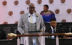 FILE: Gauteng Premier David Makhura during his State of the Province Address on 18 February 2019. Picture: @GautengProvince/Twitter