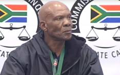 A screengrab of former Public Investment Corporation (PIC) boss Dan Matjila giving testimony at the PIC Inquiry on 24 July 2019.