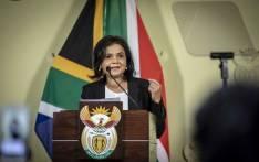 President Cyril Ramaphosa announces new NDPP Shamila Batohi at the Union Buildings in Pretoria on 4 December 2018. Picture: Thomas Holder/EWN