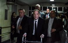 Harvey Weinstein walks away from the courtroom in New York City criminal court on 6 January 2020 in New York City. Picture: AFP