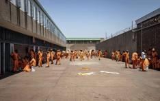 The maximum security yard inside Leeuwkop Correctional Facility. Picture: Thomas Holder/EWN.
