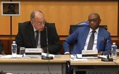FILE: A video screengrab of the Nugent Commission of Inquiry into Sars on 25 September 2018.