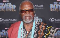 FILE: Dr John Kani at the Hollywood premiere of 'Black Panther'. Picture: Twitter