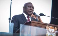 President Cyril Ramaphosa gives his inauguration speech at Loftus Versfeld Stadium in Pretoria on 25 May 2019. Picture: Abigail Javier/EWN